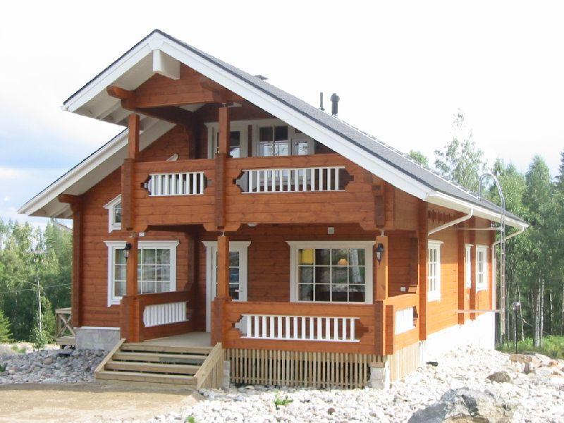 фото финских деревянных домов