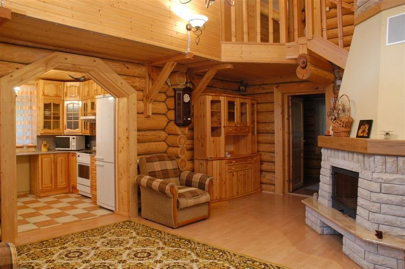 Интерьеры дачных домов