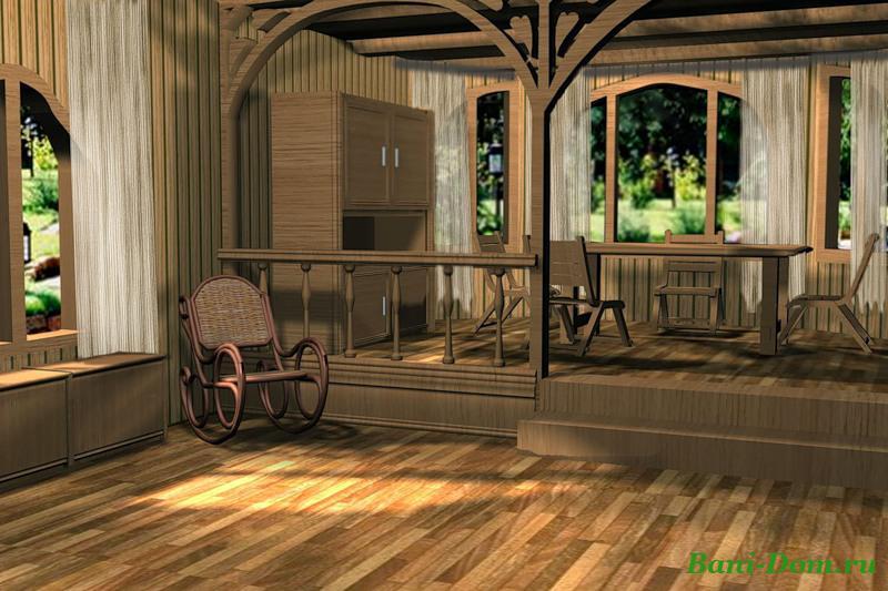 интерьеры дачных домов фото