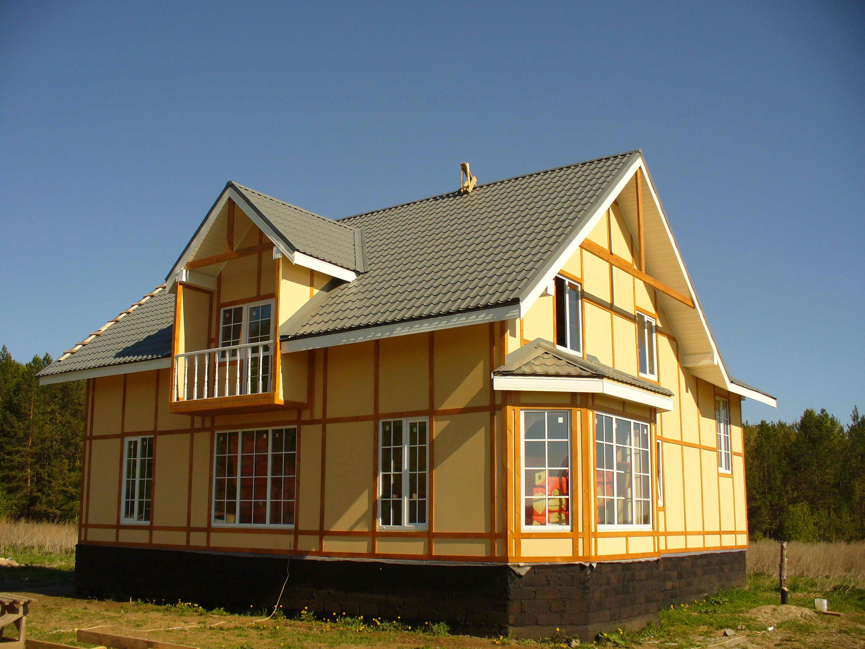 Финский каркасный дом своими руками видео
