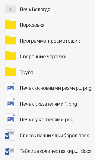 Документация на Вологду